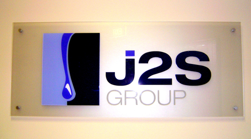 J2S Group Reception Sign