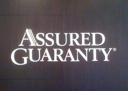 Assured Guaranty Reception Sign